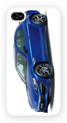 Mazda RX8 Blue, iPhone 5 5S, Etui de téléphone mobile - encre brillant impression