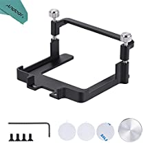 FeiyuTech Hero5 Camera Mounting Kit Clip Mount Plate Adapter Connector for Feiyu G4 or G4-QD Connects for GoPro Hero 5 Action Camera with Andoer Cleaning Cloth