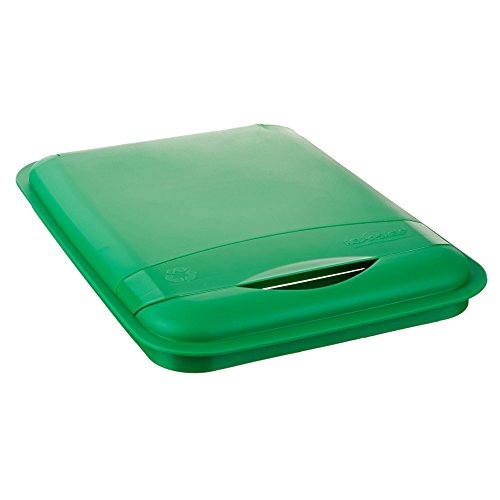 Rev-A-Shelf - RV-35-LID-G-1 - 35 Qt. Green Waste Container Recycling Lid