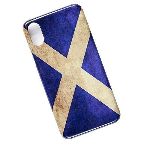 Flag of Scotland. Slim Phone Case for iPhone X, XS.