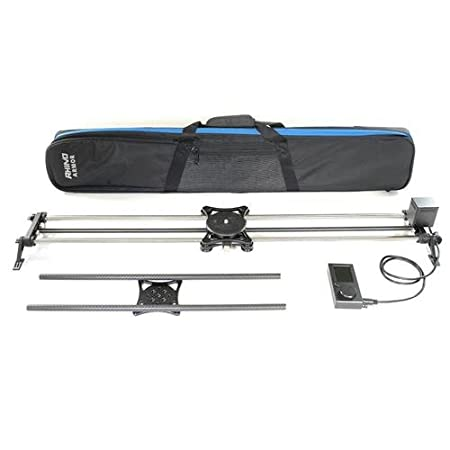 "Rhino Motorized Studio Slider Bundle - Includes 42"" EVO PRO Slider, Rhino Motion, 24"" Carbon Rails, and Carrying Case"