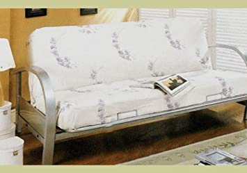silver metal futon daybed sofa bed frame day bed