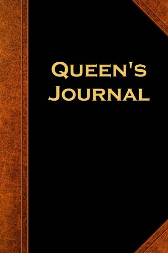 Queen's Journal Vintage Style: (Notebook, Diary, Blank Book) (Scary Halloween Journals Notebooks Diaries)