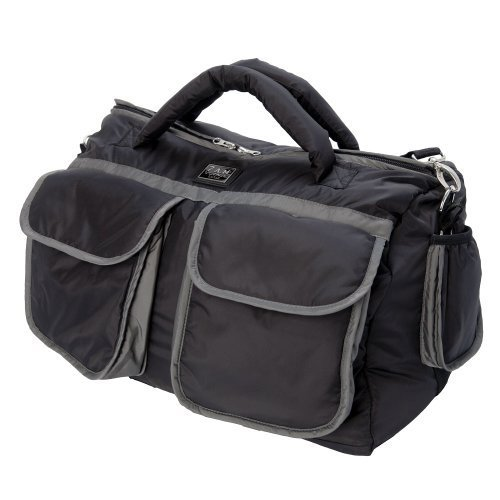 7 Am Enfant Voyage Bag (Large, Black/ Grey) by 7 AM Enfant by 7 AM Enfant