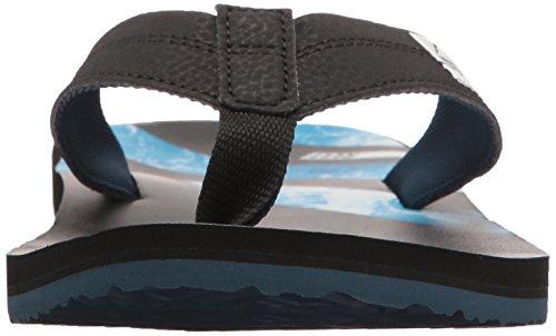 Reef Ht Prints Water Blue, Infradito Uomo Multicolore (Water Blue)