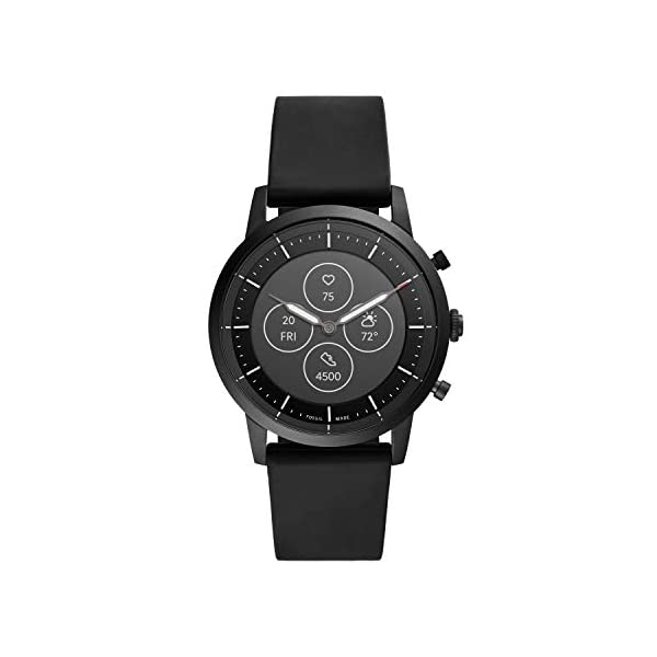 Fossil Hybrid Smartwatch HR with Always-On Readout Display, Heart Rate, Activity Tracking, Smartphone Notifications, Message Previews