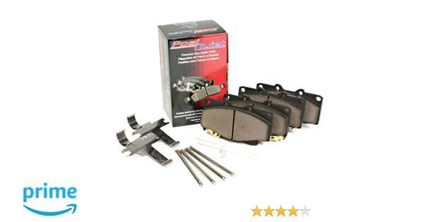 LOW DUST 105.13630 + Hardware Kit FRONT SET Posi Quiet Ceramic Brake Disc Pads