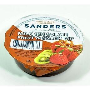 Sanders Milk Chocolate Fruit & Snack Dip Cup (case of 24)