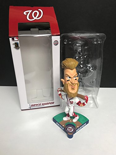 (Bryce Harper CARICATURE Washington Nationals Limited Edition MLB Bobblehead)