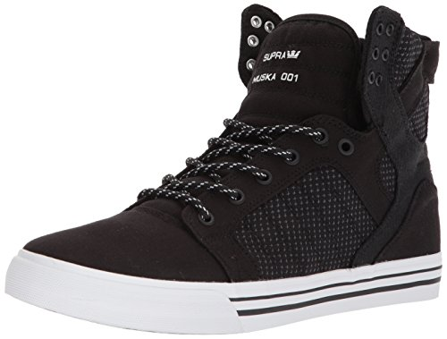Supra Men's Skytop Black/Dark Grey/White