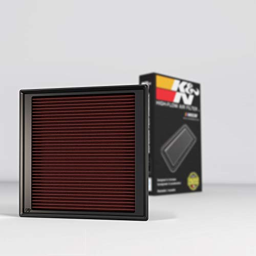 K&N Engine Air Filter: High Performance, Premium, Washable, Replacement Filter: 2009-2016 Cadillac SRX and SRX II, 33-2444