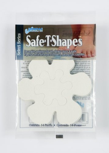 Compac Select Safe-T-Shapes Bathtub Decals, ()