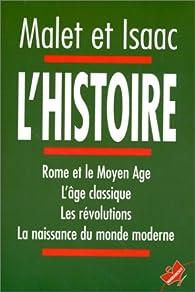 L'histoire par Albert Malet