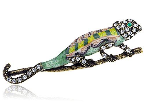 Rhinestone Lizard - 6