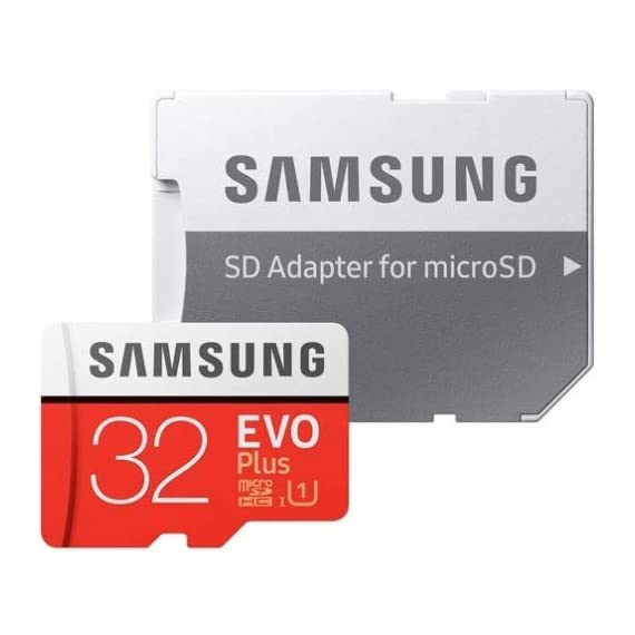 SAMSUNG 32GB EVO Plus MicroSDHC w/Adapter (2017 Model) 1 This refurbished product is tested and certified to look and work like new. The refurbishing process includes functionality testing, basic cleaning, inspection, and repackaging. The product ships with all relevant accessories, and may arrive in a generic box