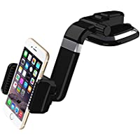 COSK Dashboard Car Phone Mount, Windshield Phone Car Holder for iPhone 7 / 7 Plus / 6S / 6S Plus / Galaxy S8 / S8 Plus / S7 / S7 Edge / LG Smartphone