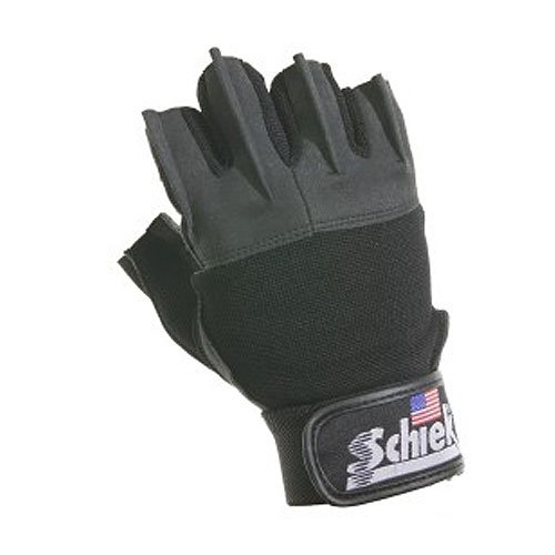 Schiek Sports 530 Platinum Lifting Gloves XS Black (Schiek Lifting Gloves Xs)