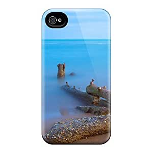 Premium Durable Rocks Wooden Pylons On A Beach Fashion Tpu Samsung Galaxy Note3 Protective Case Cover hjbrhga1544