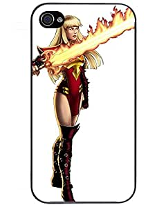 Comics Iphone4s Case's Shop 9025152ZD619825595I4S For iPhone 4/4s Tpu Phone Case Cover(Magik)