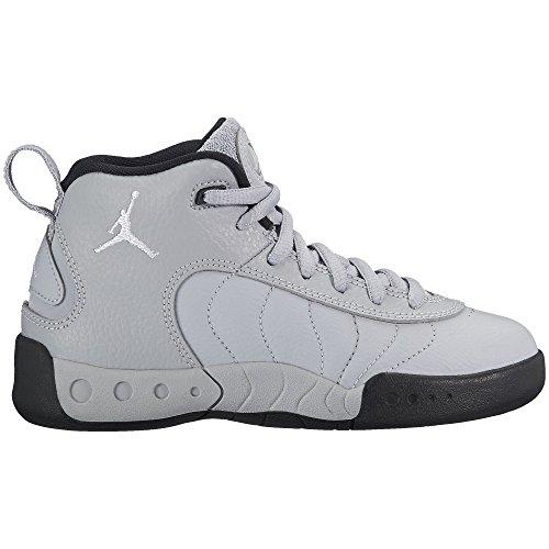 Jordan Jumpman Pro BP Little Kids Shoes Wolf Grey/White/Black 909419-004 (10.5 M US) by Jordan