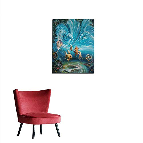 longbuyer Wallpaper an Oil Painting on Canvas The