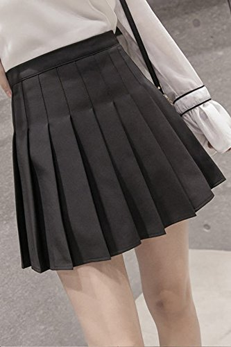 d82f440a97 Amazon.com : Thick autumn and winter anti emptied skirt sheds College Wind  waist pleated skirt fashion child tutu skirt for women girl : Beauty