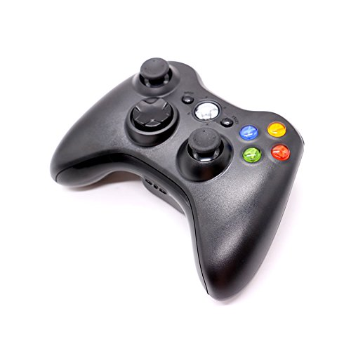 HUELE Xbox 360 Wireless Controller- Black