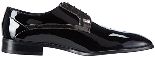 Hemsted & Sons Derby Schwarz/Anthrazit