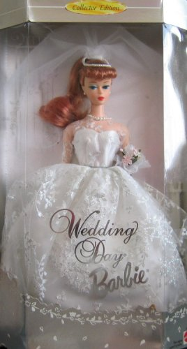 Amazon.com: Barbie in Wedding Dress Re-Issue of the Original 1961 ...