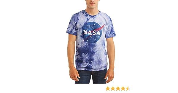 46a48dab Amazon.com: Retro Wear NASA Space Men's Meatball Logo Tie Dye T-Shirt Tee:  Clothing