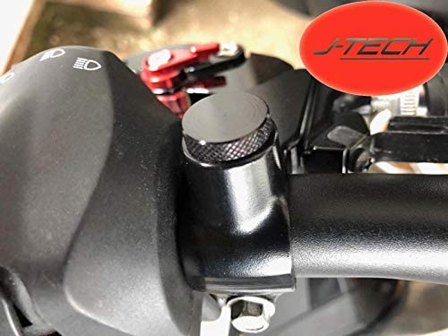 2 x Billet Aluminium Mirror Blanking Plugs* Bolts-M10 for a KTM 790 Duke