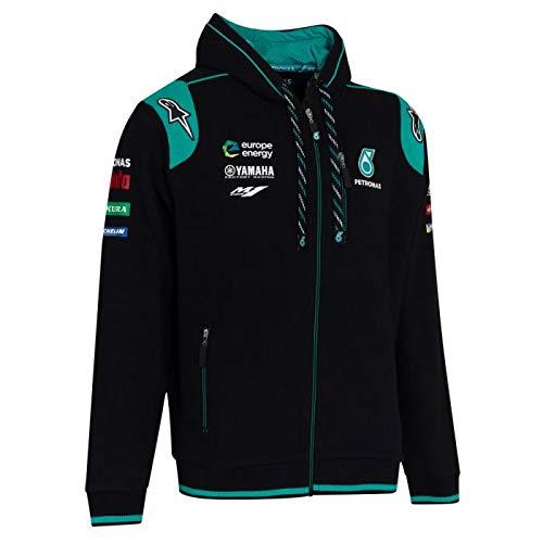 Petronas MotoGP Zip Sweat /à Capuche Fabio Quartararo Team Officiel 2019