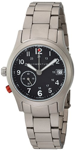 - Momentum Women's Swiss Quartz Titanium Dress Watch, Color:Grey (Model: 1M-SP61B0)