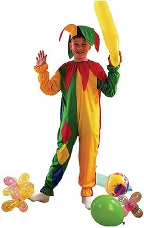 Children - Disfraz de bufón infantil, talla 3-5 años (G51120S ...