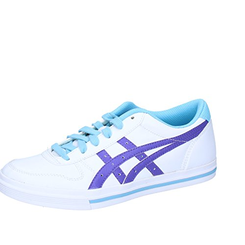 Onitsuka Tiger Sneakers Donna Bianco Viola Pelle
