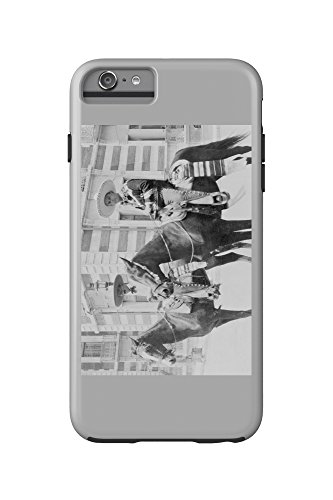 [Men in Charro Costumes in Tampico Mexico Photograph (iPhone 6 Plus Cell Phone Case Cell Phone Case,] (Group Office Costumes)