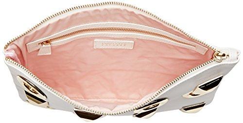 L'AETELIER CAESARS Hany - bolso de mano Mujer Blanc (Blanc)