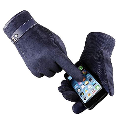 Amdxd Sports Touch Winter Women Gloves Screen Blu rqCrz