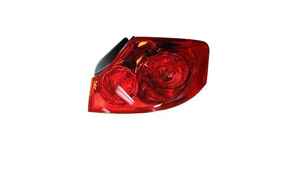 Taillight Taillamp Brake Light Passenger Right RH for Infiniti G25 G35 G37 Sedan