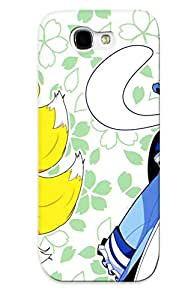 New Style Exultantor Blondes Tails Video Games Touhou Dress Ghosts Pink Hair Animal Ears Red Eyes Premium Tpu Cover Case For Galaxy Note 2