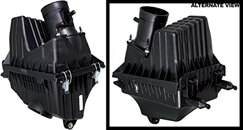 APDTY 133954 Air Filter Box Plastic Housing Assembly Fits 3.0L V6 Non-Hybrid Engine On 2005-2007 Ford Escape Mercury Mariner 2005 Mazda Tribute (Replaces 5L8Z-9600-BA, 5L84-9600-BB, 5L849600BB)