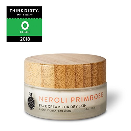 JUSU Body Neroli Primrose Face Day Cream for Dry/Mature Skin - 100% Natural - Normal Skin Green Tea