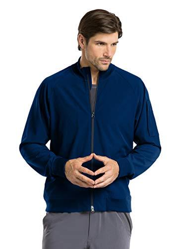 Barco One 0405 Men's Bomber Zip Jacket Indigo XS ()
