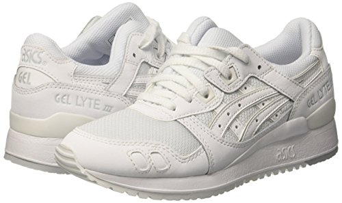 Gel Lyte Asics Adulto Unisex white Zapatillas III White 5ddrX