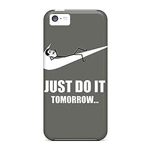 Plastic cell phone carrying shells Cases Covers For Iphone Shock-dirt iphone 6plus 6p just do it tomorrow meme WANGJING JINDA