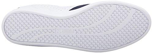 PUMA Damen Match Lo Basic Sport Sportstyle Sneaker Puma Weiß / Peacoat