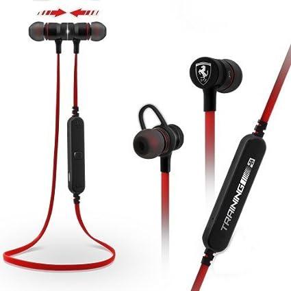 4e2078d2a95 Ferrari Bluetooth Earphone with Microphone: Amazon.in: Electronics