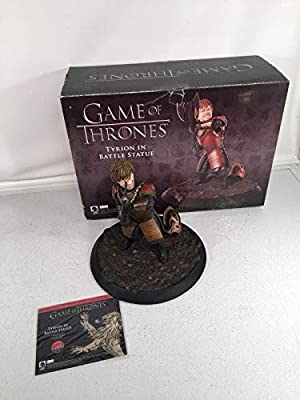 Game Of Thrones Tyrion Lannister In Battle Statue By Gentle Giant Studios NIB