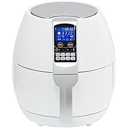 Best Choice Products Electric Air Fryer W/ 8 Cooking Presets, Temperature Control, Timer- White