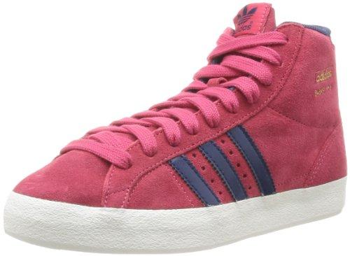 魅力的対立首尾一貫したadidas Originals Basket Profi Womens Sneakers/Hi Tops-Red-23
